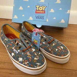 Disney Pixar toy story vans woody